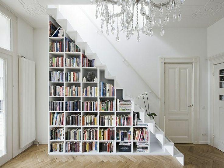 ber ideen zu moderne bibliothek auf pinterest modernes b cherregal bibliotheksdesign. Black Bedroom Furniture Sets. Home Design Ideas