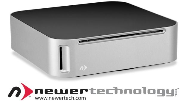 NewerTech optical drive miniStack and SD reader and up to 4TB storage