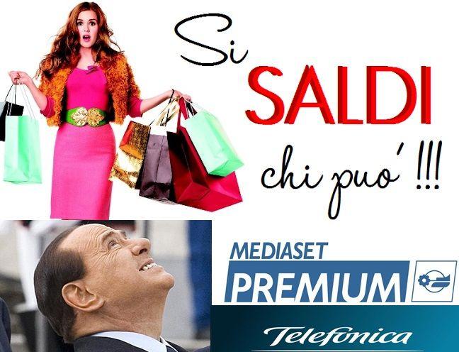 #Saldi italiani o #Italia in saldo? Nuovi partner per #Mediaset ... il #Biscione opta per #spagnoli e #arabi ( #Telefonica e #AlJazeera ). Le nostre antennine come al solito si drizzano e noi ci chiediamo : Terra di conquista o processo di #internazionalizzazione ? Intanto #PierSilvio #Berlusconi vuole incontrare #Renzi …Il nostro consiglio??? Per il momento STARE ALLA LARGA DAL #TITOLO !!!  Aggiornamenti a breve...