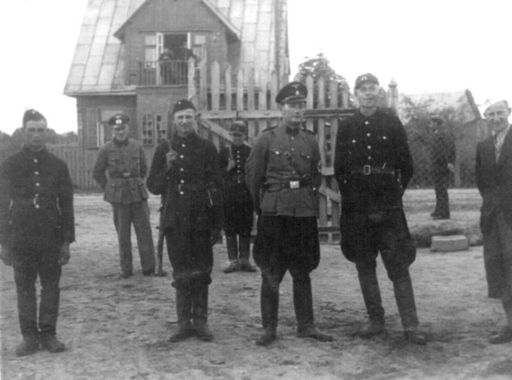 Miedzyrzec Ghetto, German Police and Accomplices