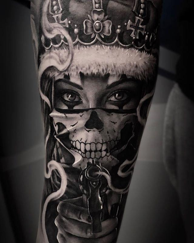 200 Amazing Tattoo Designs Ideas That You Ll Love Day Of Dead Tattoo Day Of The Dead Tattoo Sleeve Skull Girl Tattoo