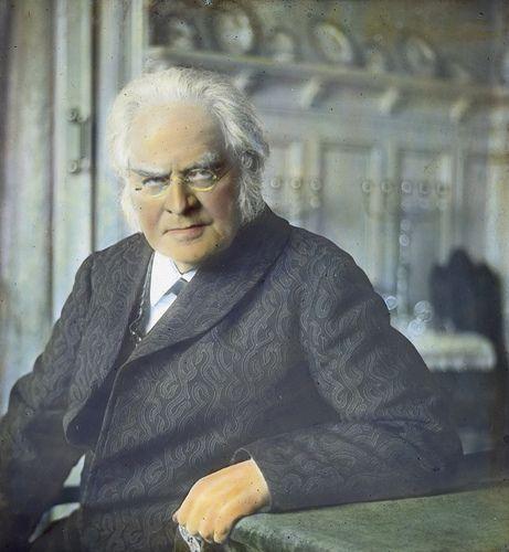 Bjørnstjerne Bjørnson (1832-1910). Photo: Anders Beer Wilse / Owner: DEXTRA Photo