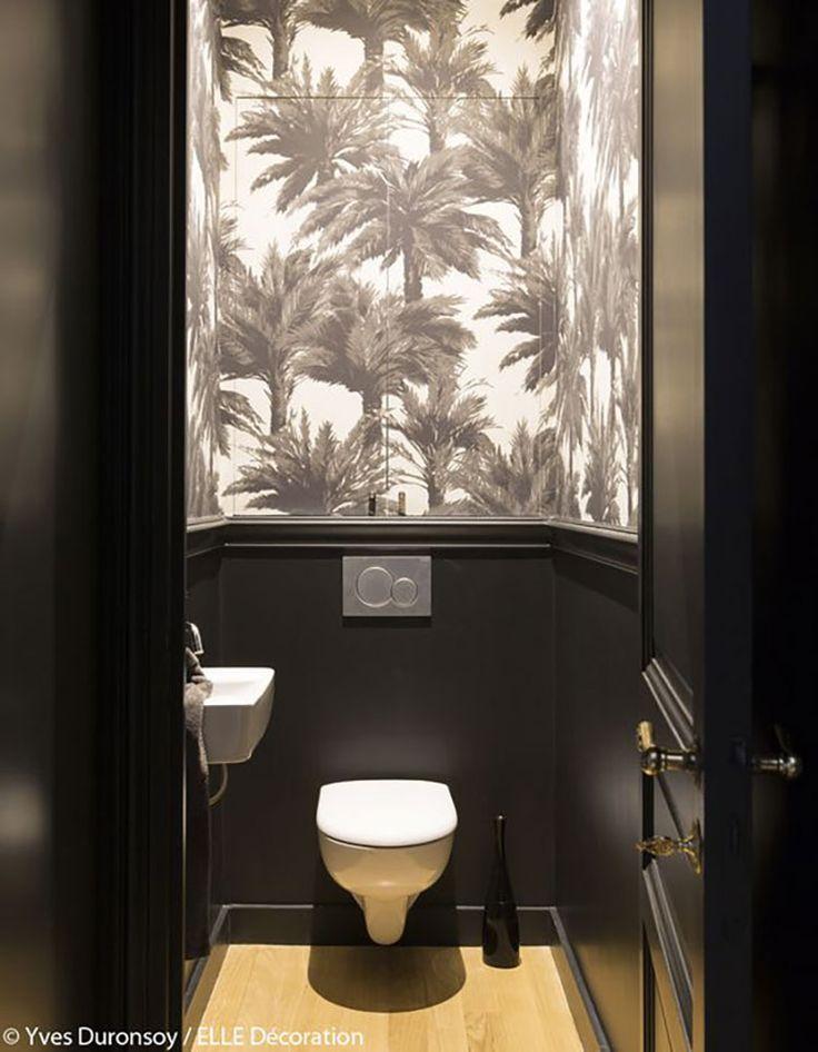 Tapete in der Toilette. Tapete Mauritius – Pierre Frey – Über …