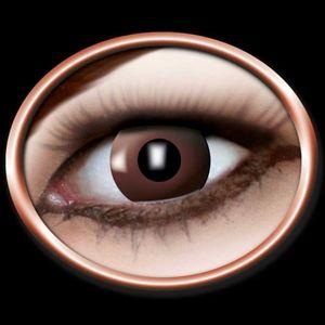 Kontaktlinser uden styrke. Brune øjne med Kontaktlinser. Fest linser.Vil du have brune øjne? Kontaktlinser med helt perfekte brune øjne. Ser rigtig godt og realistisk ud. Vores kontaktlinser er uden styrke og bruges til film, skuespil, udklædning og for sjov. Professionelle kontaktlinser med farve og motiv.  #kontaktlinser #brun #partybutikken #temafest