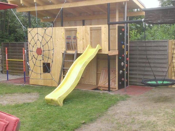 """Garantierter Spiel- und Kletterspaß! """"Spielhaus für meine Tochter """" Mehr Details findet ihr hier: http://www.toom-baumarkt.de/selbermachen/kreativwerkstatt/details/spielhaus-fuer-meine-tochter-2418/ #toom #Baumarkt #toomBaumarkt #toomTeam #Heimwerken #DIY"""