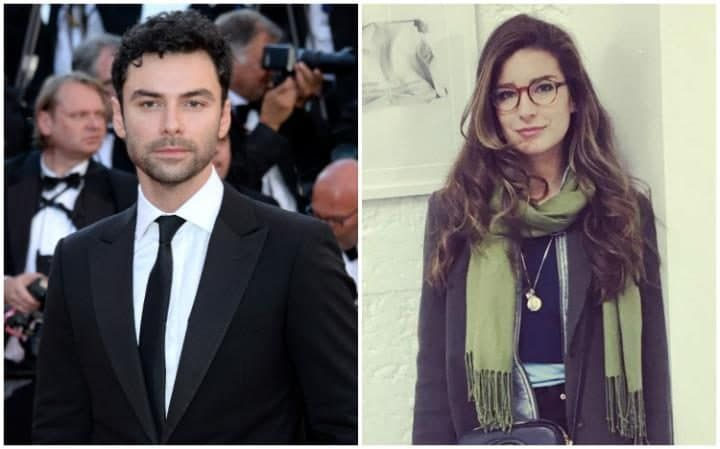 Aidan Turner (left) was involved with artist Nettie Wakefield