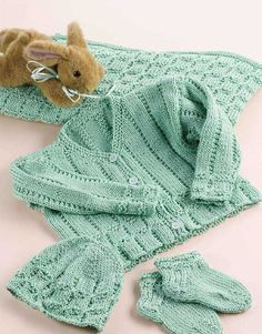 Precious Bundle Set free knitting pattern