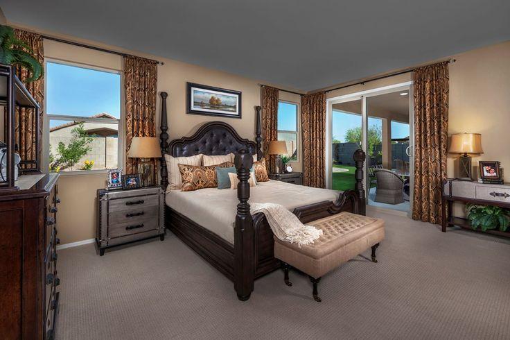 New Homes in Maricopa, AZ - Homestead Plan 2643 Master Bedroom