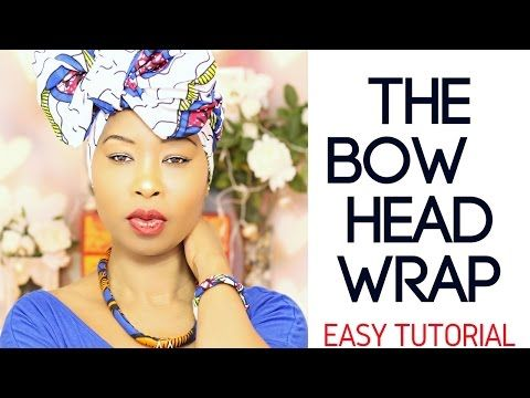 Beginner Head Wrap Tutorial - How To Tie A Head Wrap - Easy Hijab - Protective Style - Curly Hair - YouTube
