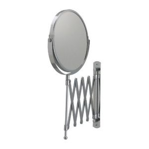 IKEA Wall Mount Make Up Shaving Bath Bathroom Magnifying Mirror Stainless Steel