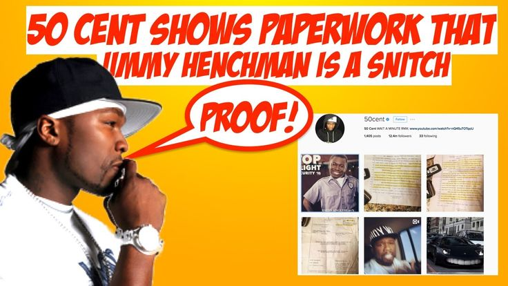 50 Cent Shows Documented Proof That Jimmy 'Henchman' Was a SNITCH. Disses VladTV | JordanTowerNews - VIDEO