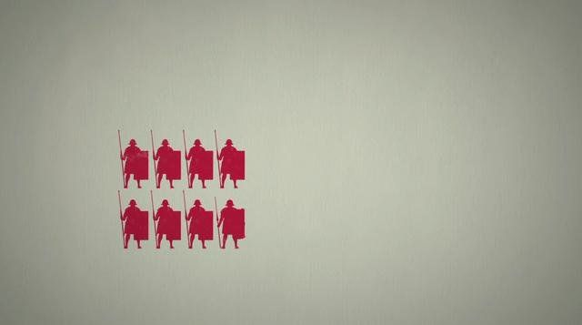 Fascinating visualization breaks down how the Roman army was organized. by Casey Chan | Sploid