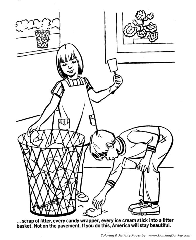 Earth Day Coloring Pages - Urban ecology awareness APRIL♻ EARTH