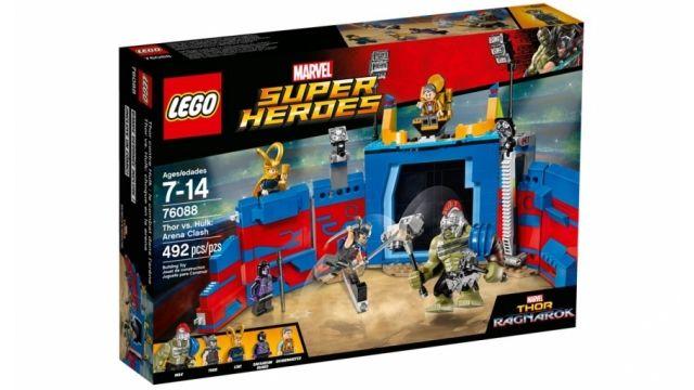 Review Lego Marvel Super Heroes 76088 Thor vs. Hulk: arenagevecht. Lees de reviews en vergelijk de prijzen!