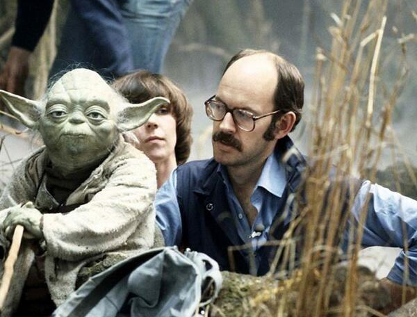 Frank Oz/Yoda (The Empire Strikes Back, 1980)