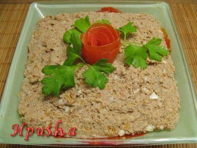 Паштет из куриной печени : Закуски и бутерброды
