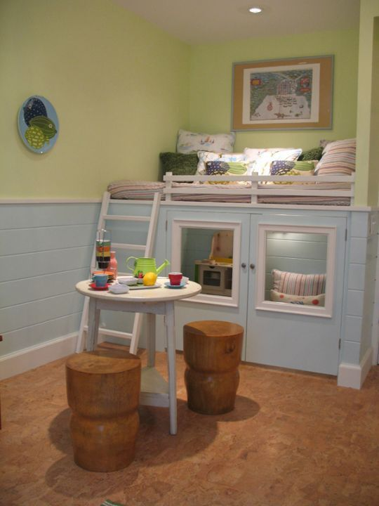 DIY Closet Reading Nook | DIY} Closet reading Nooks and Playlofts + Tutorials