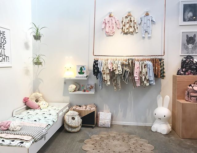 Tinycottons fabulousness hanging in store and spot our brand new @plyhome.co.nz Junior Bed which will be online and available for purchase from Friday. This beauty is the best of the best in kids beds, flat pack and not a nut or bolt in sight! 🙌