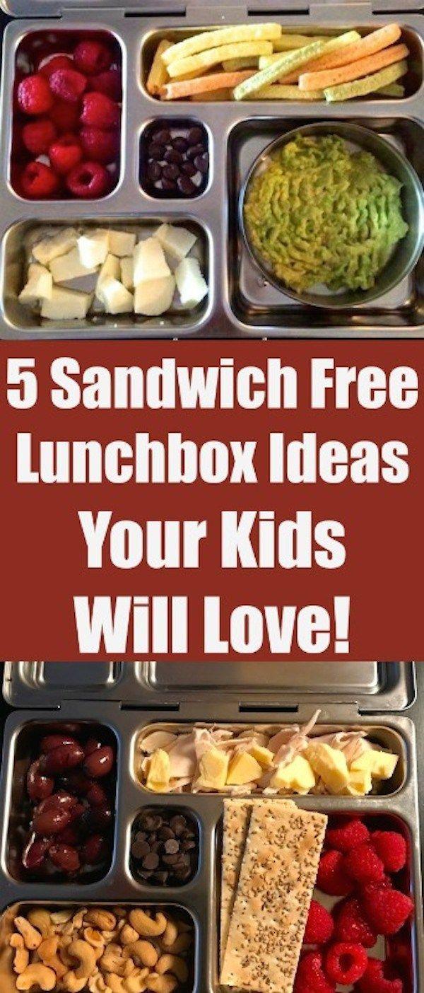 5 Sandwich Free Lunchbox Ideas Your Kids Will Love