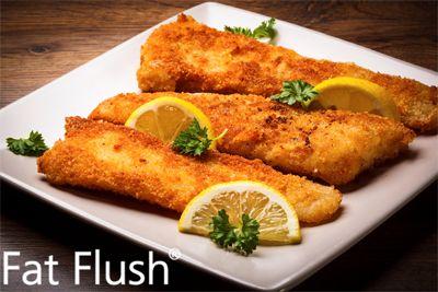 Crispy Nonfried Fish- Official Fat Flush Recipe