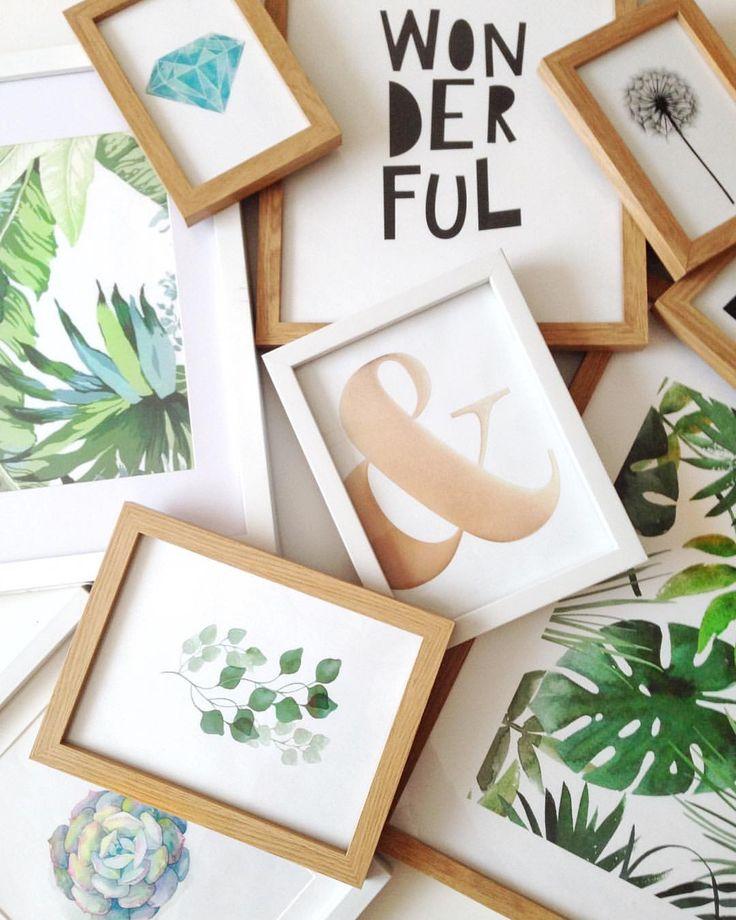 """52 kedvelés, 4 hozzászólás – Emese (@twinstahome) Instagram-hozzászólása: """"Falidekor készülőben#walldecor #walldecoration #plants #print #leaves #greenery#wordart…"""""""