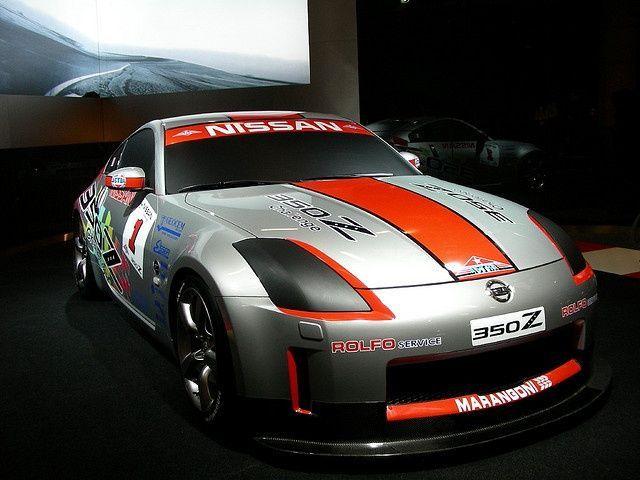 Nissan 350Z Race-car @ Bologna Motor Show (Italy) 09/12/2006.     Nice Nissan pi