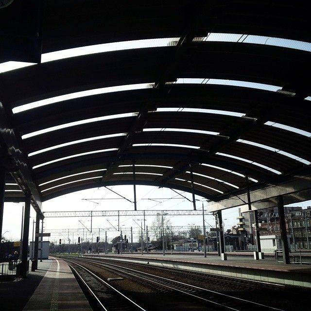 #katowice #railway #station #architecture #cool   Katowice, Poland