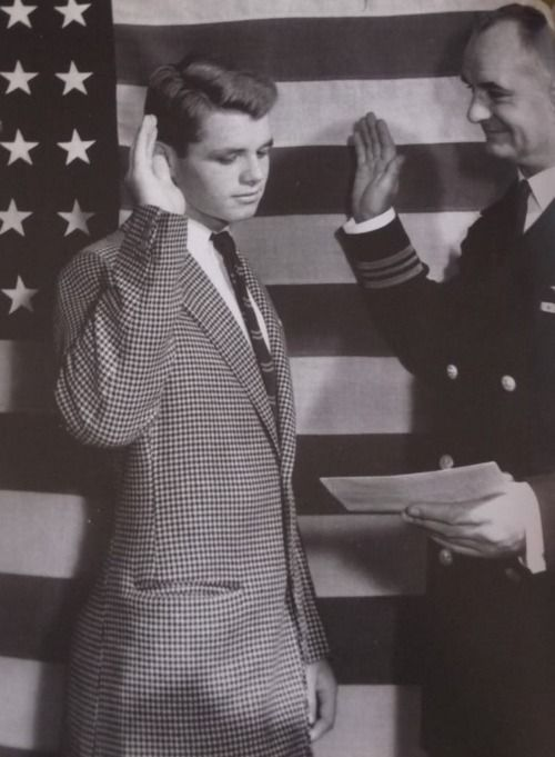 At its best: Teenage Bobby Kennedy.
