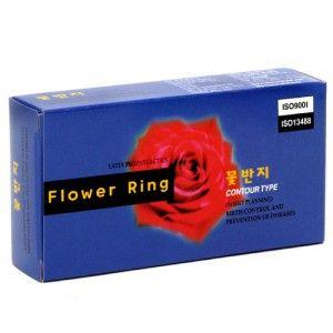 [유니더스] 미니케이스에 담긴 꽃반지 콘돔 1박스 (12p) www.joynjoy.com