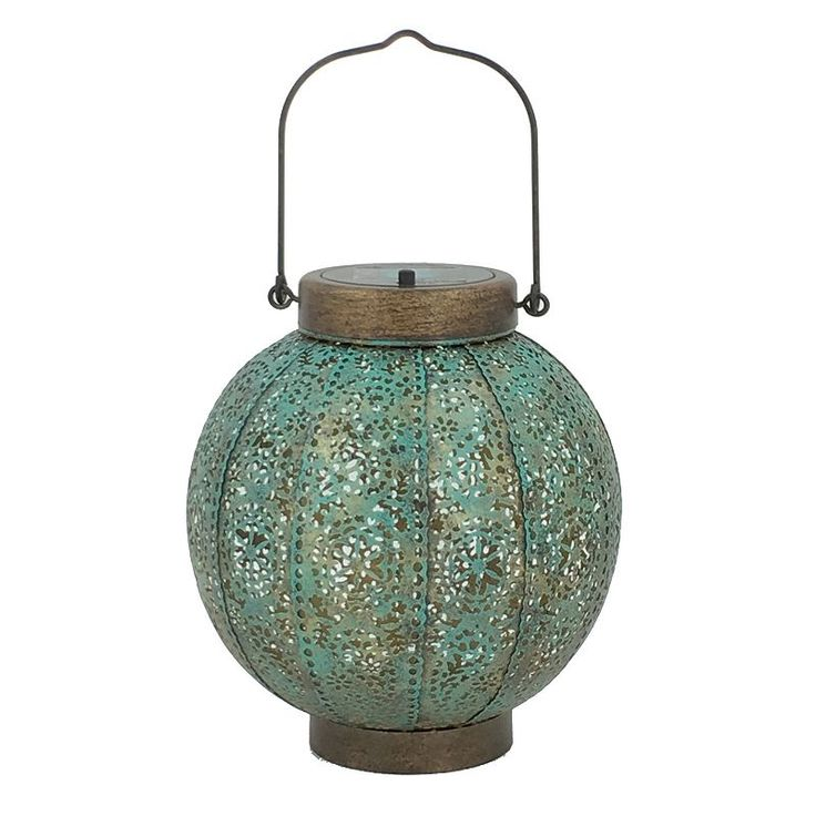SONOMA Goods for Life™ Large Round Outdoor Solar LED Lantern, Multicolor