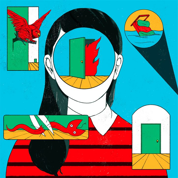 Illustrator Cristina Daura's editorial work is fresh and considered.