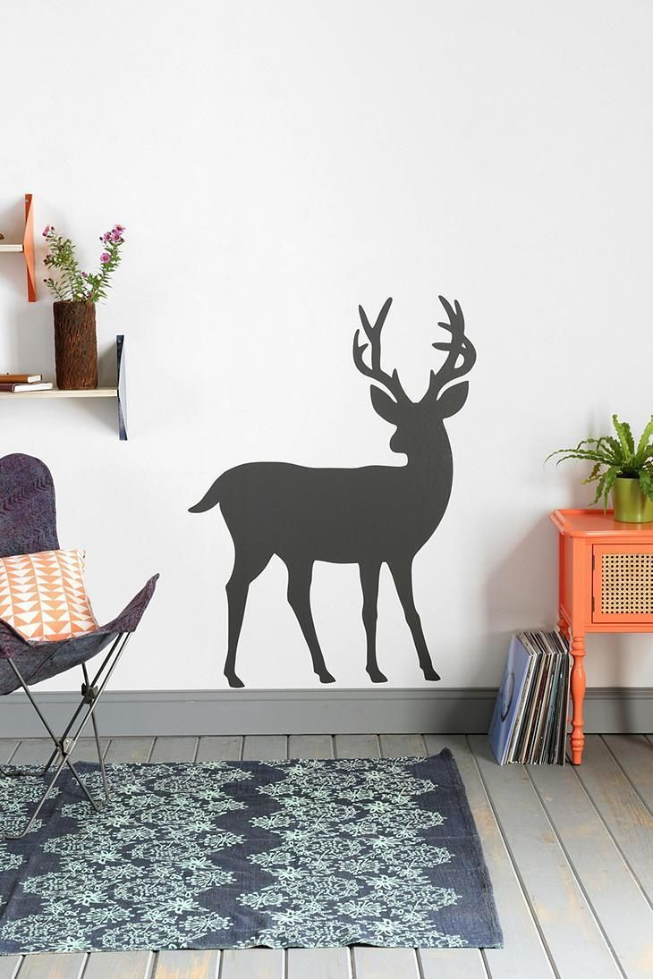 Deer wall decals deer wall decal deer wall decals for Deer wall mural