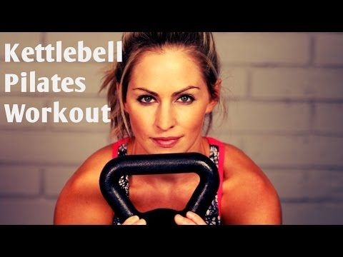 25 Minute Kettlebell Strength and Cardio HIIT Workout - YouTube
