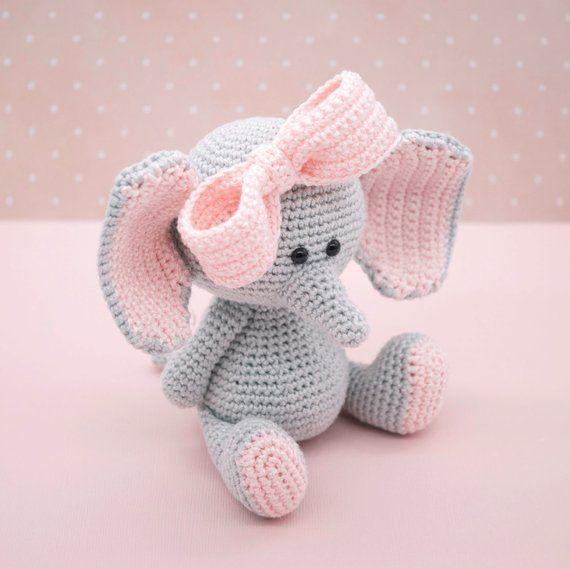 Elefante Llavero Crochet | Otakulandia.es | 569x570
