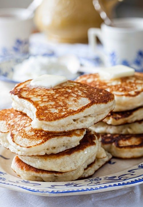"Russian Monday on Saturday: ""Oladushky"" - Honey Yeast Blini ( Pancakes, Blintzes ) at Cooking Melangery #russian_food"