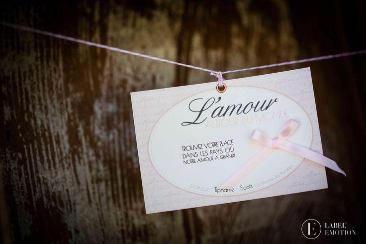 Table plan romantic wedding - Plan de table pour mariage retro romantique chic Label' Emotion Provence Wedding & Event agency Provence Paris Lyon Montpellier London  http://www.label-emotion.com/ #WeddingProvence #Wedding #Mariage #OrganisateurMariage #MariageRetro #RetroWedding #RomanticWedding #Pink #White #Rose #Blanc