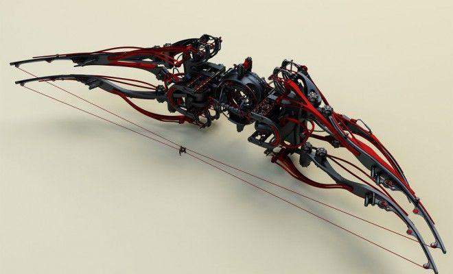 3-D steampunk weaponry designs from a digital blacksmith – Designcot