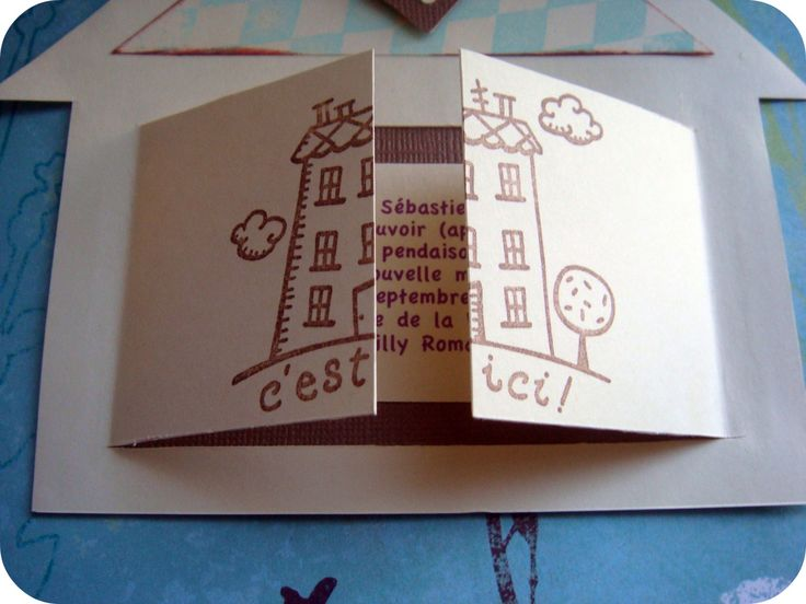 carton invitation crémaillère   ai reçu une invitation pour la crémaillère de ma copine Misscrap ...