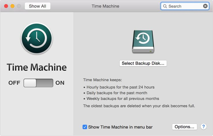 Time Machine! Apple makes it so simple and easy to backup your important data. You'd be crazy not to take advantage of it!