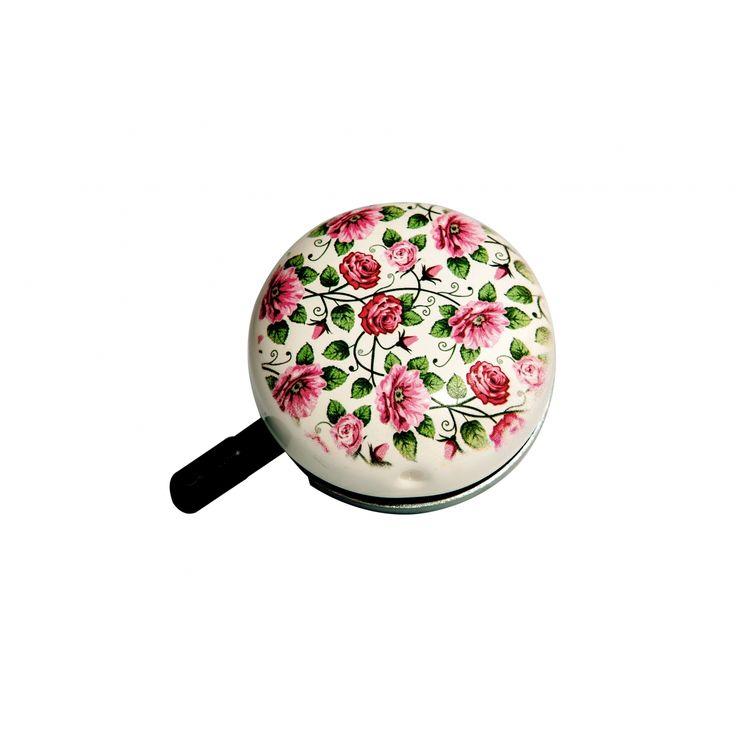 RETRO ROSES dzwonek rowerowy w róże