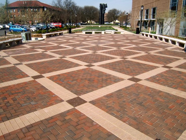Purdue University Clay Pavers By Pine Hall Brick Field