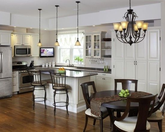 17 best images about kitchen lighting ideas on pinterest pictures oil rubbed bronze and ps - Kitchen chandelier ideas ...
