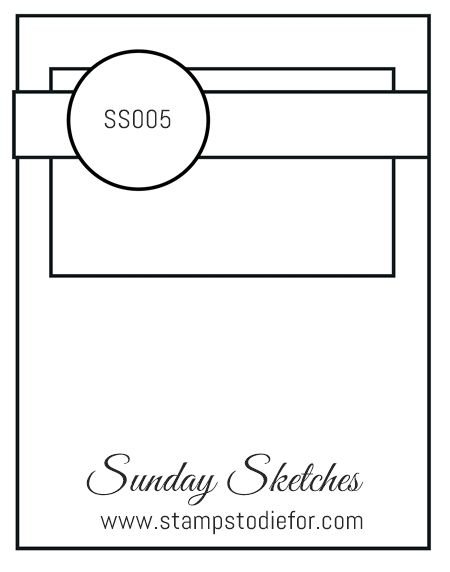 Sunday Sketches SS005 - Paisley's & Posies - Stamps To Die For