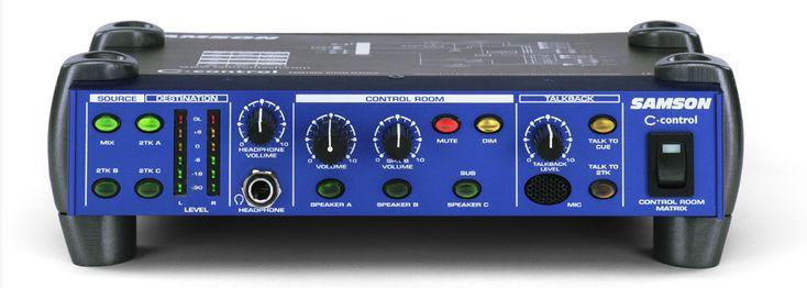 Samson C Control: Monitör Kontrol Cihazı