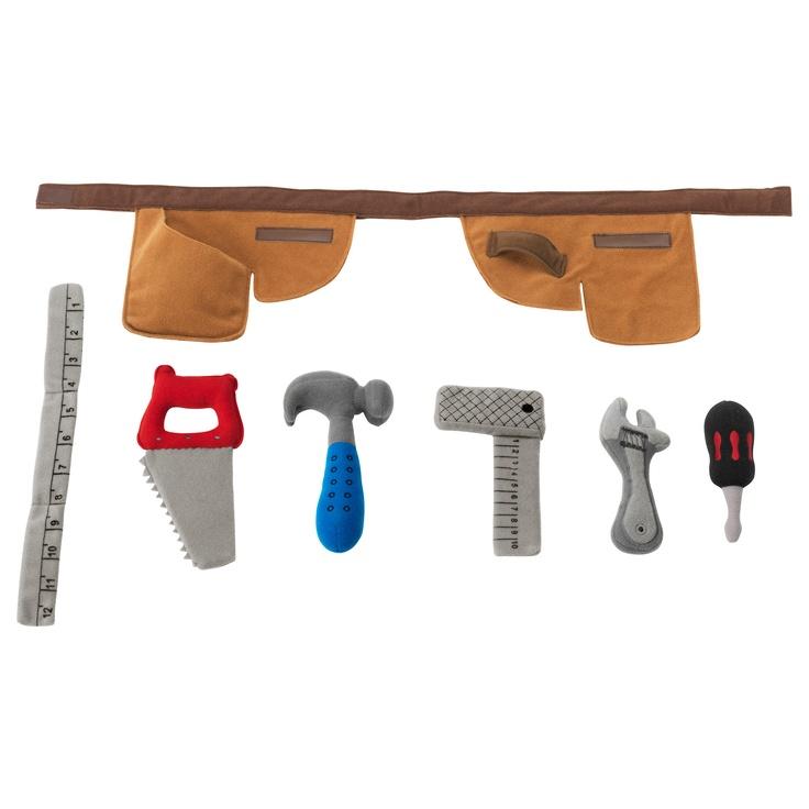 DUKTIG Toolbelt with soft toys  $7.99 @ Ikea