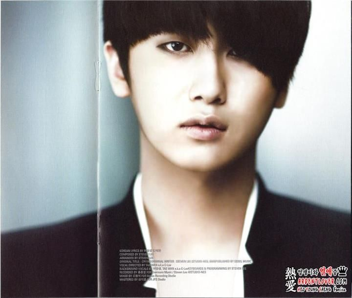 "❀ ✿ BlackRose50101 ✿ ❀: [Scan]Heo Young Saeng - 2nd mini album ""SOLO"""