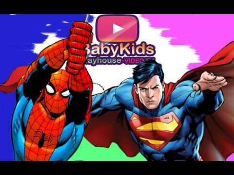A new #puzzle #game video. In this video you can play with #Spiderman and #Superman in a #puzzling game baby.  Video for #baby #kids #toddlers.