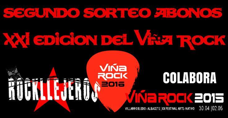 Segundo ganador del sorteo de abonos del Festival Viña Rock