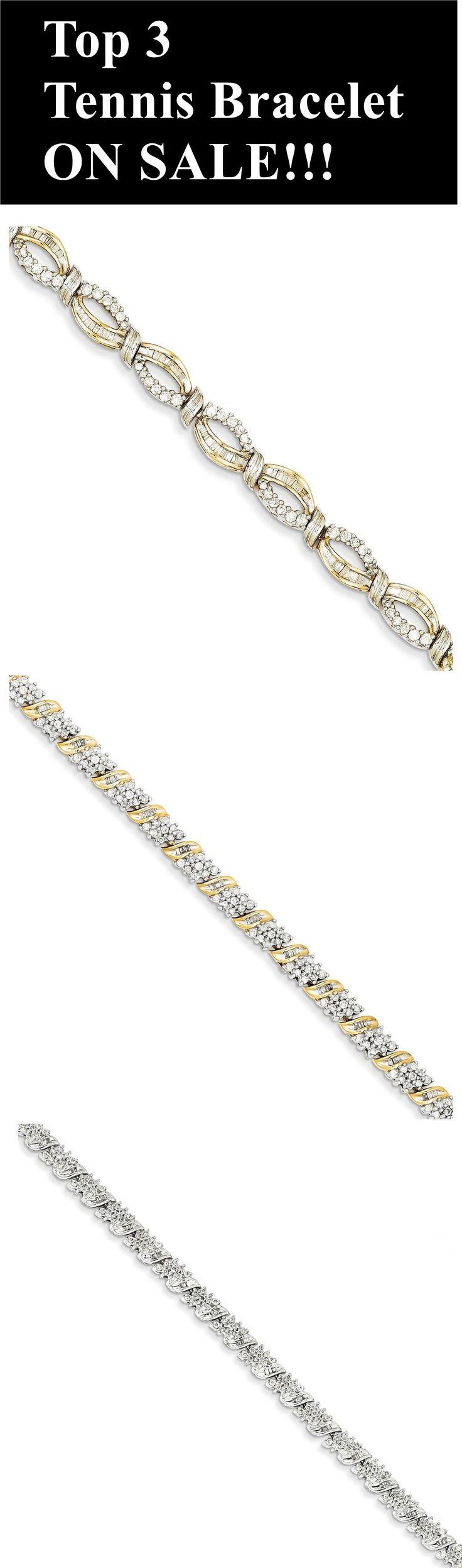 Diamond tennis bracelets - Diamond Bracelets - Fashion Jewelry - Christmas Gifts - Jewelry - Trendy Jewelry - Cheap Jewelry - Top Bracelets - Discounts - Sale