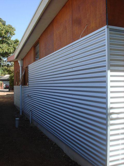 look of zincalume / timber